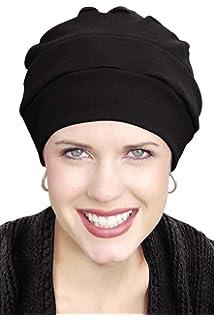 Racheljp Cancer Hat Chemo Hats Caps Women Turban Headwear For Hair ... b7ac1665742e
