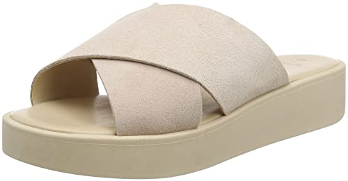New Look Wide Fit-Florida, Chanclas para Mujer, Marfil (Oatmeal 14), 39 EU