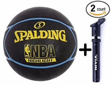 Amazon.com: Spalding – HIGHLIGHT Series Negro/Amarillo Combo ...