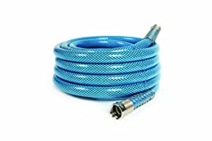 "Camco 25 Feet 25ft Premium Drinking Water Lead and BPA Free, Anti-Kink Design, 20% Thicker Than Standard Hoses 5/8"" Inside Diameter (22833)"