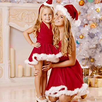 Christmas Evening Party.Amazon Com Wensltd Kid Mother Family Matching Christmas
