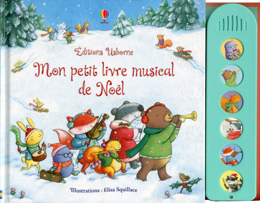 Mon Petit Livre Musical De Noel 9781409561095 Amazon Com