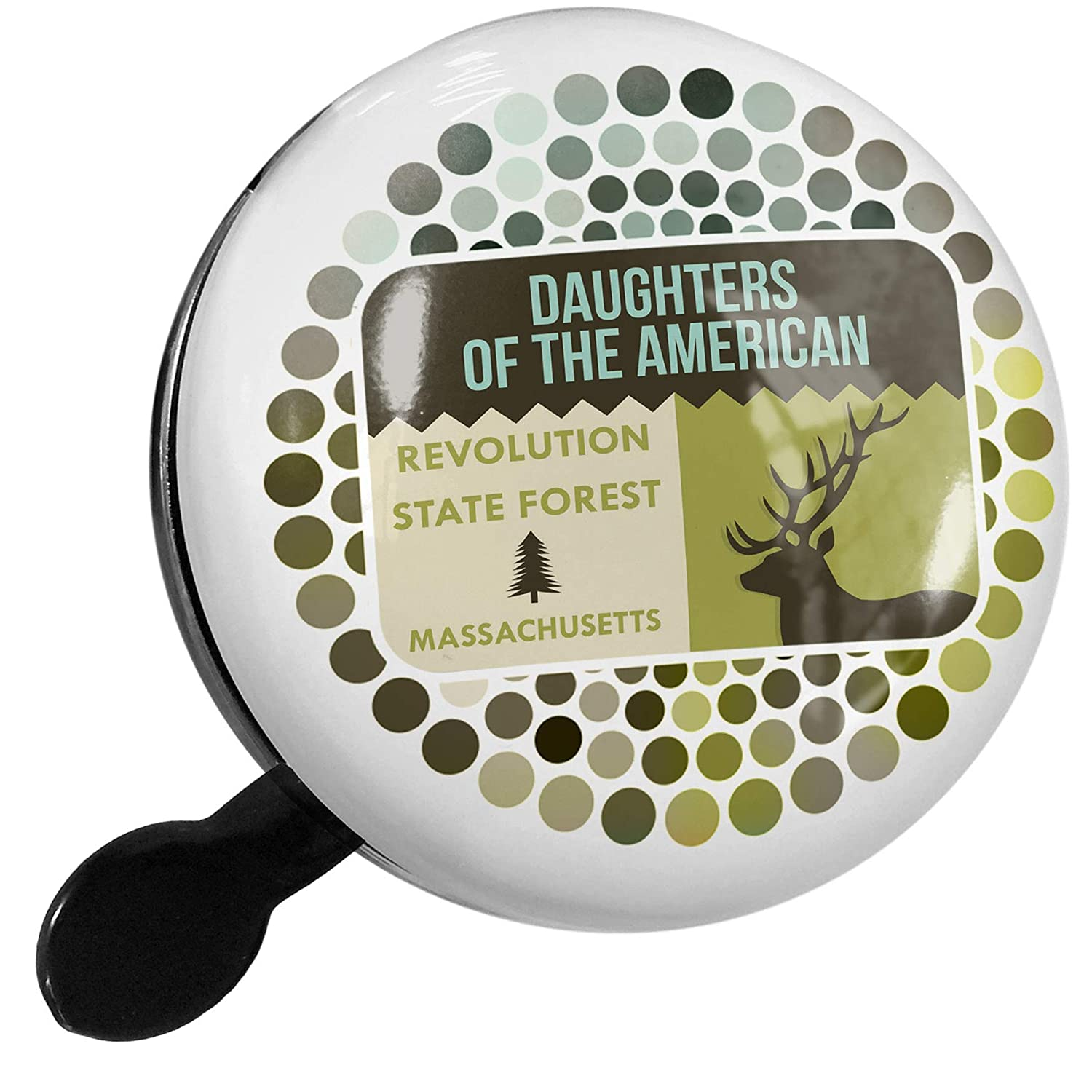 Amazon.com : NEONBLOND Bike Bell National US Forest Daughters of The American Revolution State Forest Scooter or Bicycle Horn : Sports & Outdoors