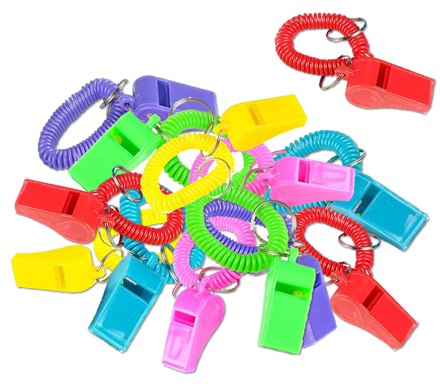 Metal Whistles Call a time-out for fun with these whistles Pack of 12 Stick them in goodie bags