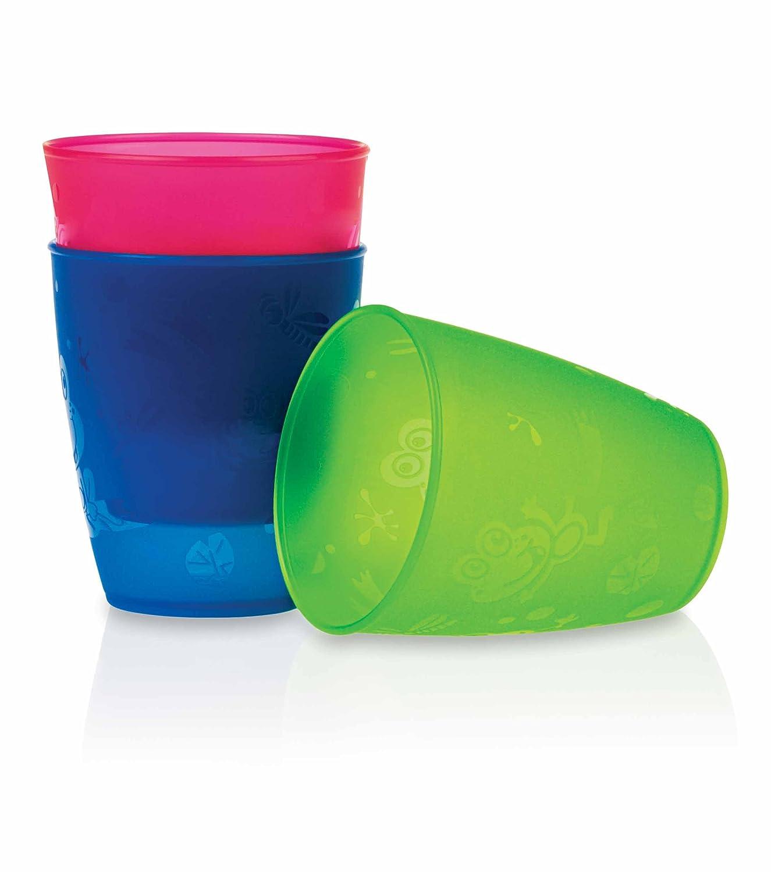 N/ûby NV0504001 Gobelet en polypropyl/ène Multicolore