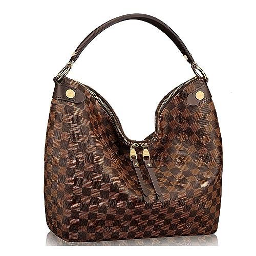 Louis Vuitton Auténtico Damier Duomo Hobo bolso de hombro artículo: n41861 fabricado en Francia: Amazon.es: Zapatos y complementos