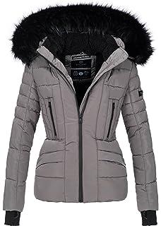 Navahoo warme Damen Winter Jacke Stepp Winterjacke Kurzjacke