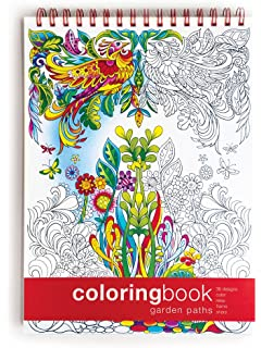 Amazon.com : Coloring NoteBook (11 x 8.5 inches) Side-bound ...