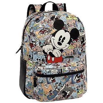 Disney 3232351 Mickey Comic Mochila Escolar, 16.13 litros, Color: Amazon.es: Equipaje