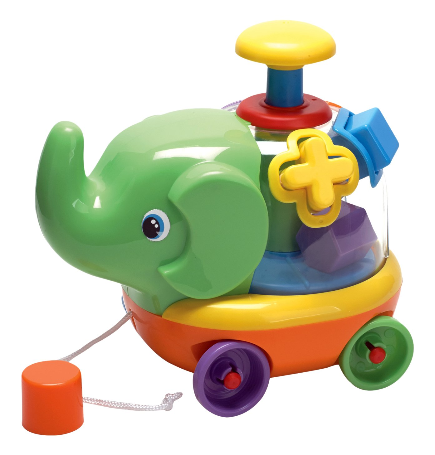 Fun Time Edwin The Elephant Shape Sorter Amazon Toys