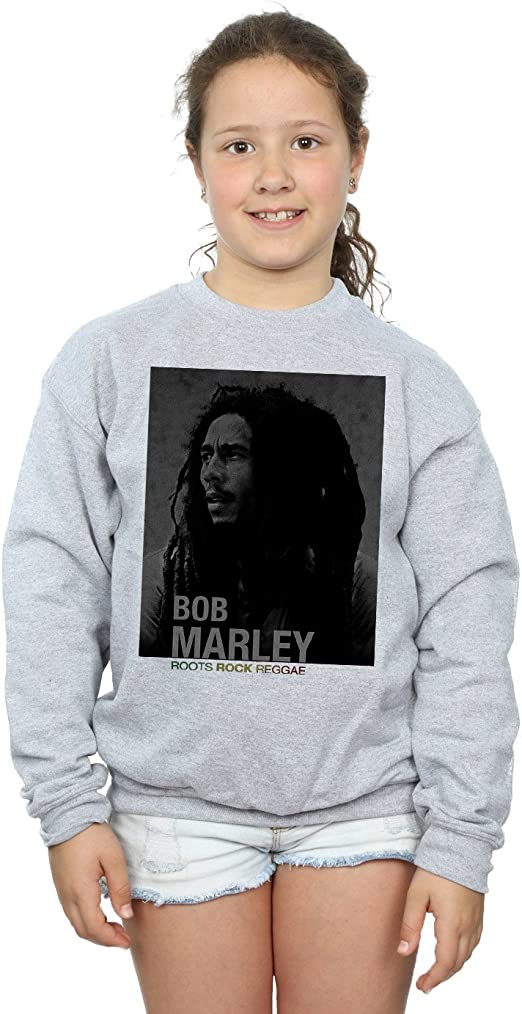 Bob Marley niñas Roots Rock Reggae Camisa De Entrenamiento