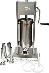 Hakka 2 in 1 Sausage Stuffer and Spanish Churro Maker Machines (15LB/7L)