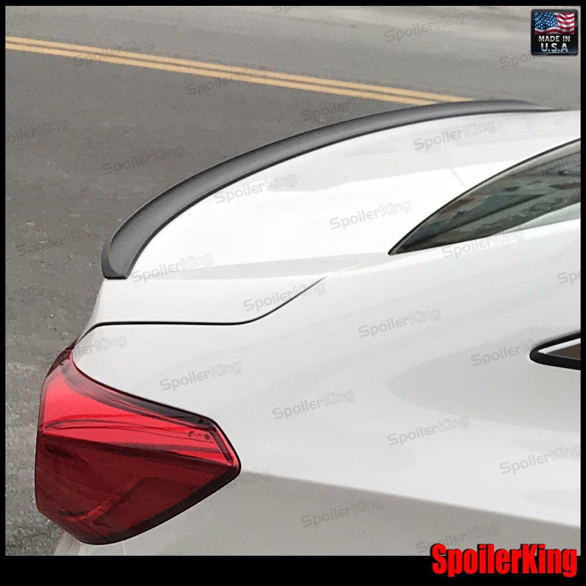 Amazon.com: Honda Accord 4dr 2018-on Rear Trunk Lip Spoiler (244R ...