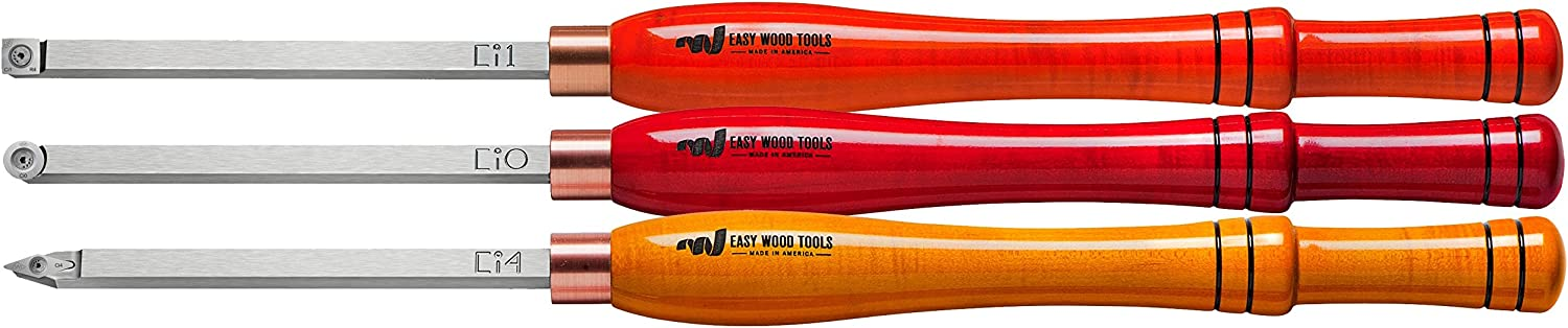 Easy Wood Tools 3 Piece Combination Set of Full Size