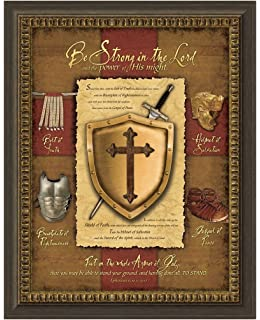 carpentree full armor of god framed artwork