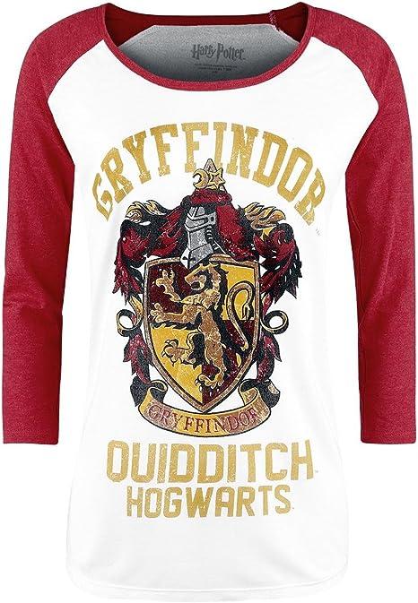 Maglietta Bianca t-Shirt di Hogwarts Harry Potter