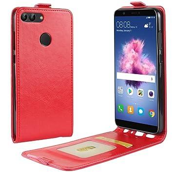Funda para Huawei P Smart Faux Cuero Billetera con Stand ...