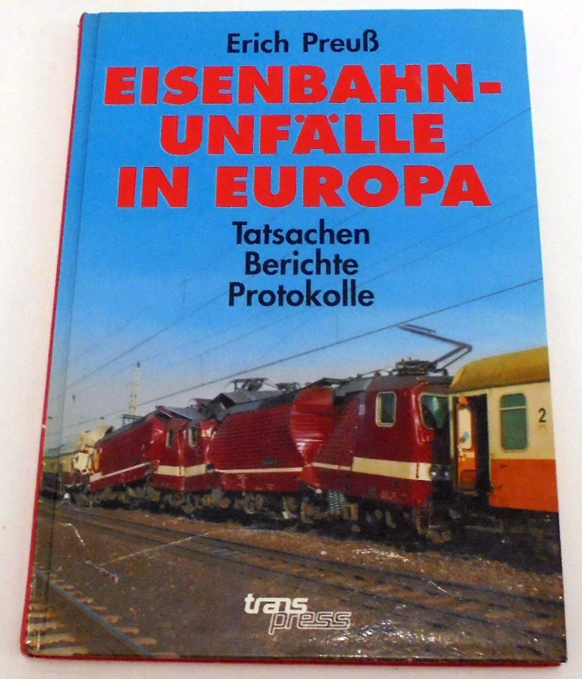 Eisenbahnunfälle in Europa