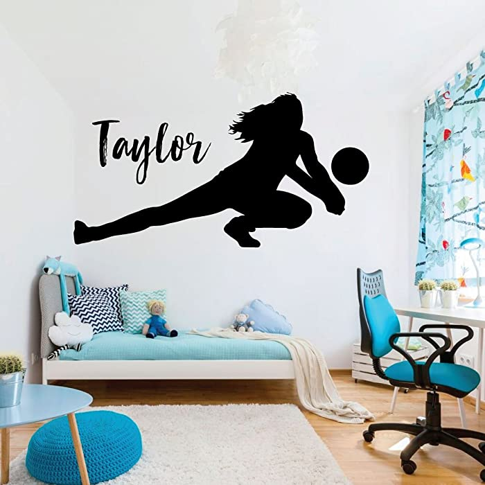 The Best I Love Volleyball Room Decor