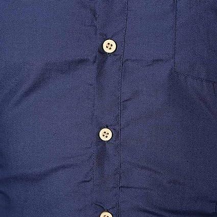 Yvelands Camisas abotonadas de la Moda del Asunto del otoño de los ...