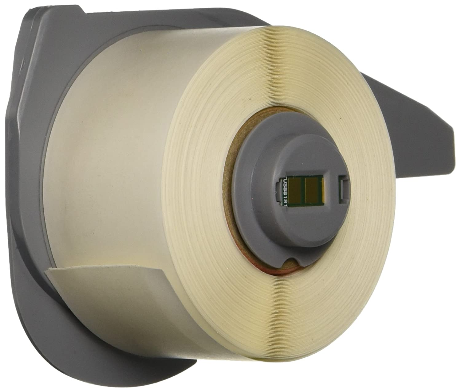 Brady M71C-500-498 Repositionable Vinyl Cloth BMP71 Labels White 1 Roll, 1 Roll per Package