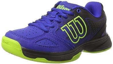 Wilson Kaos Comp Jr, Zapatillas de Tenis Unisex Niños, Azul (Blue ...