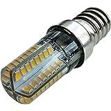 Lampadina 64 LED E14, percappa di aspirazione, frigorifero, a risparmio energetico White