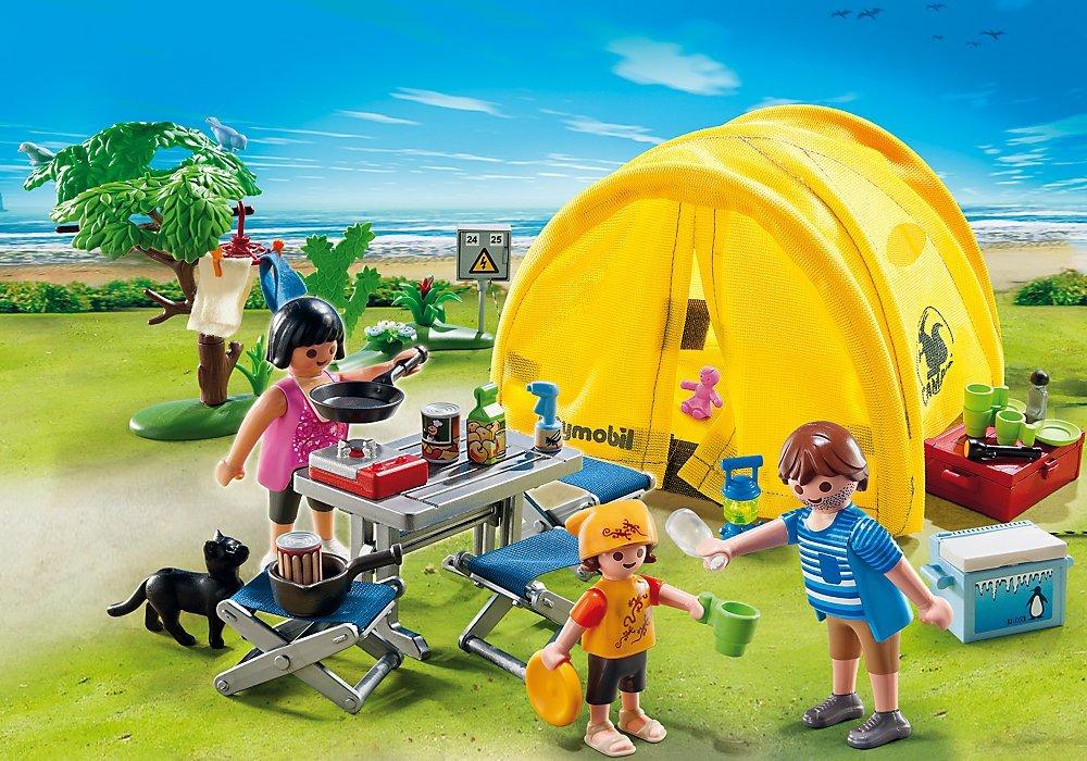 PLAYMOBIL Family Camping Trip
