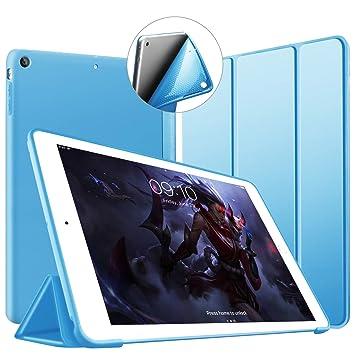 VAGHVEO Funda para iPad Mini, Slim Fit Ligera Función de Soporte Protectora Suave TPU Carcasa [Auto-Sueño/Estela] magnético Smart Cover para Apple ...
