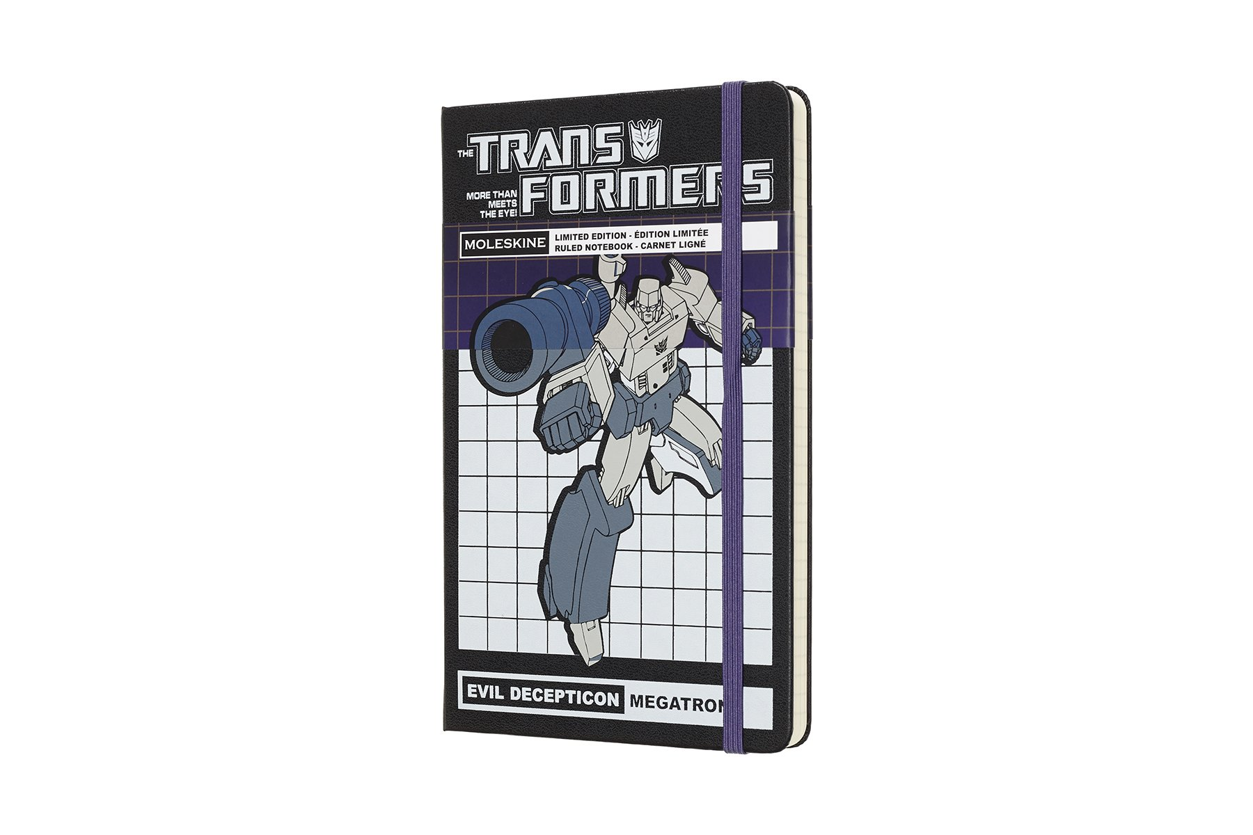 Moleskine Limited Edition Transformers Hard Cover Not ()