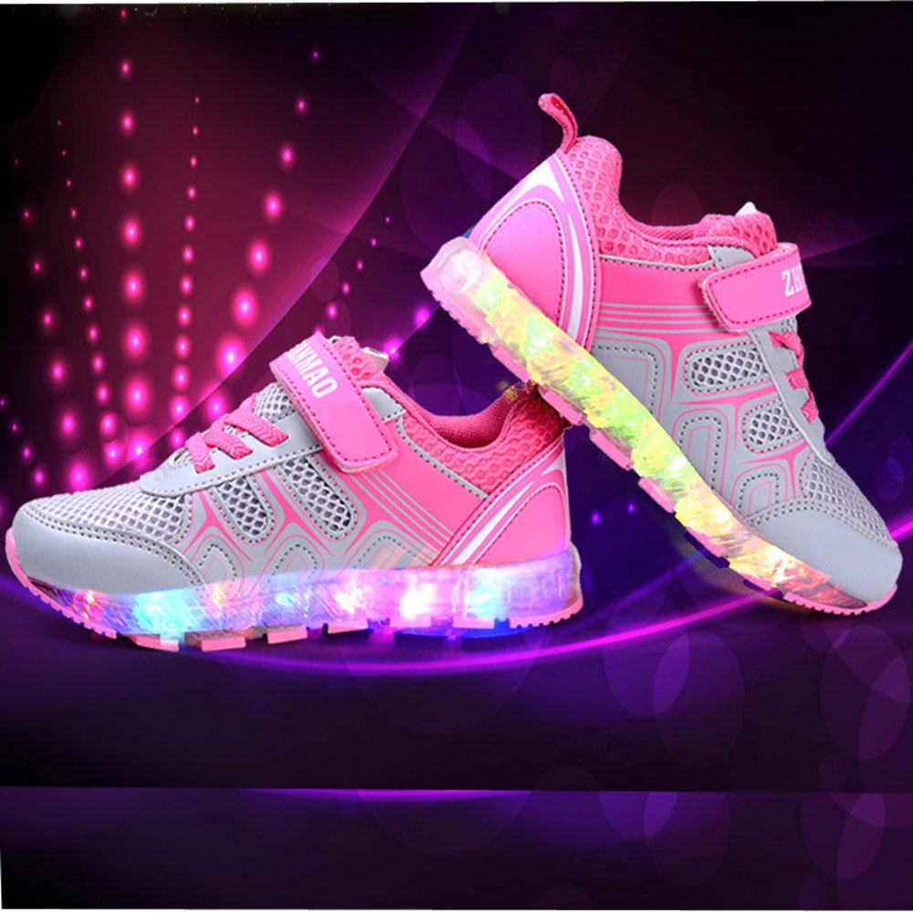 Tricanide Kids 3 Styles 7 Colors LED Flashing Sneaker