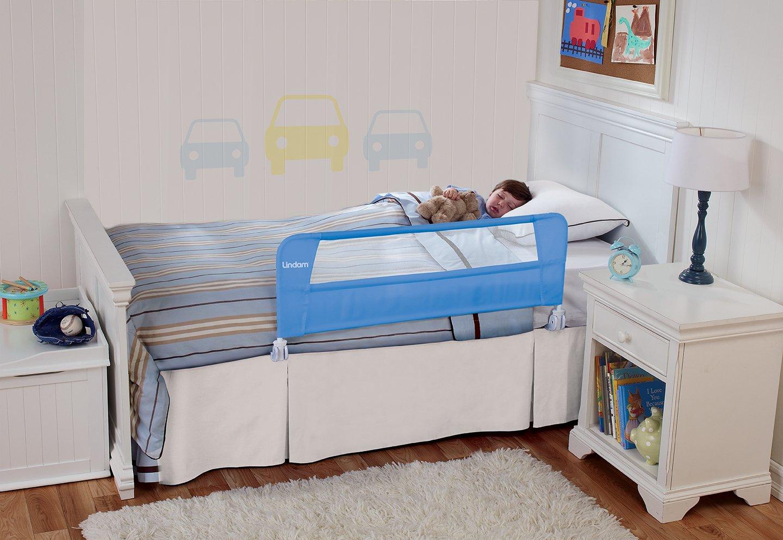 Lindam Safety Bedrail Blue Amazoncouk Baby