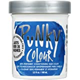 Punky Atlantic Blue Semi Permanent Conditioning Hair Color, Vegan, PPD and Paraben Free, lasts up to 25 washes, 3.5oz