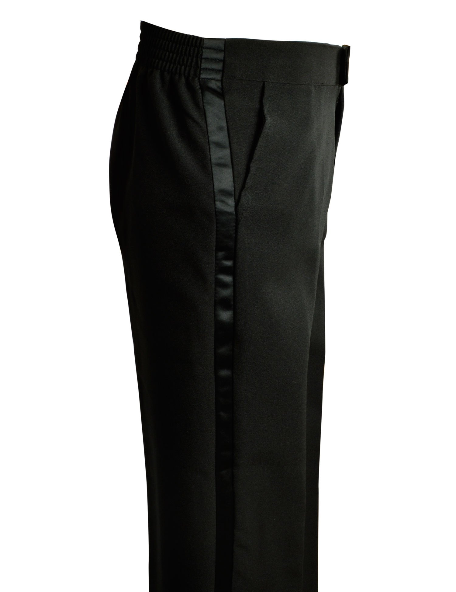 Spring Notion Boys' Black Classic Tuxedo with Tail Burgundy 4T by Spring Notion (Image #7)