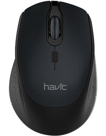 HAVIT Ratón Inalámbrico Mouse 2.4G Raton Inalámbrico Portatil 2000DPI con receptor USB, para PC