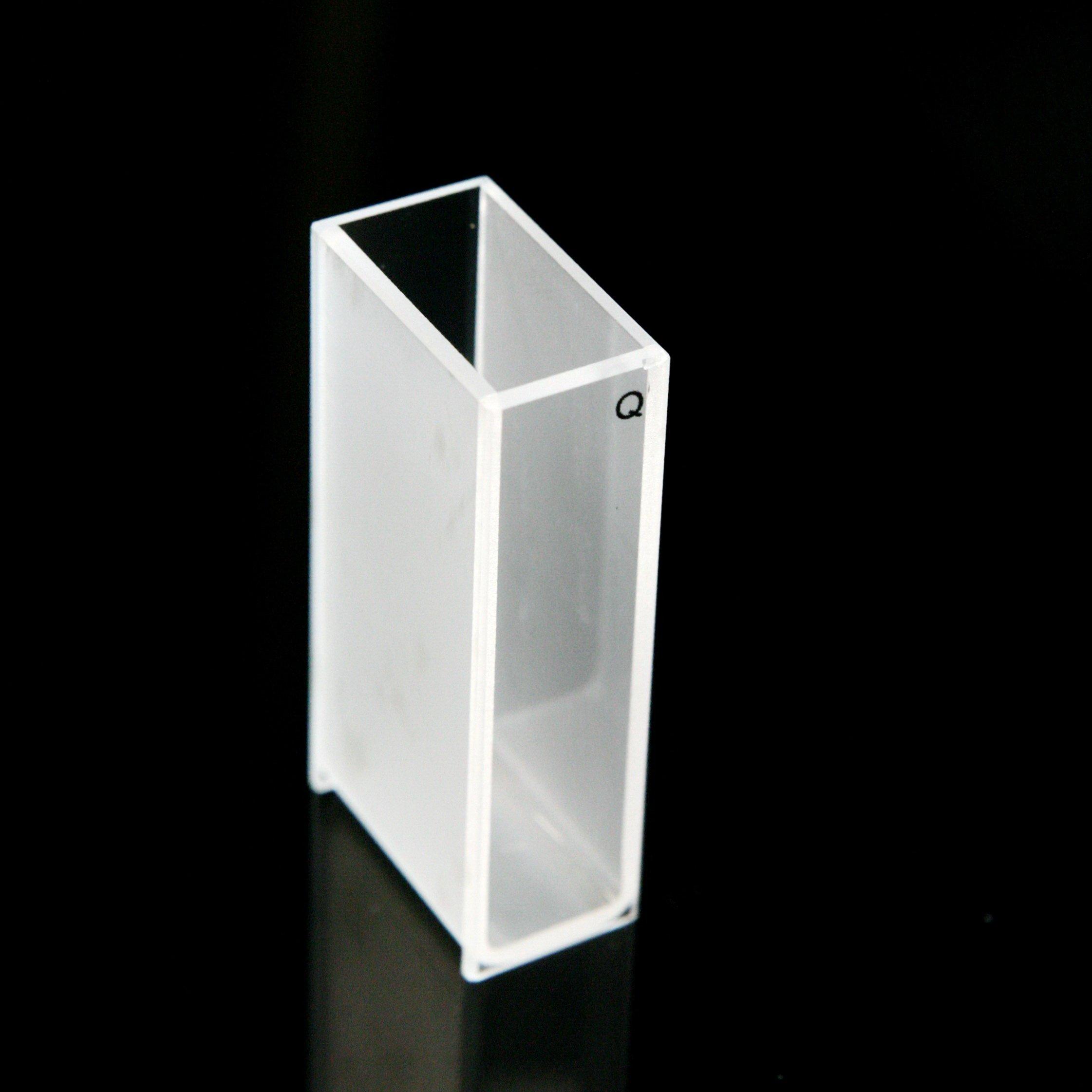 Quartz Cuvette, standard, 20mm, 7 mL, spectrometer cell
