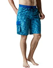 Tesla TSLA Men's 6 Inches/11 Inches Swimtrunks Quick Dry Water Beach MSB