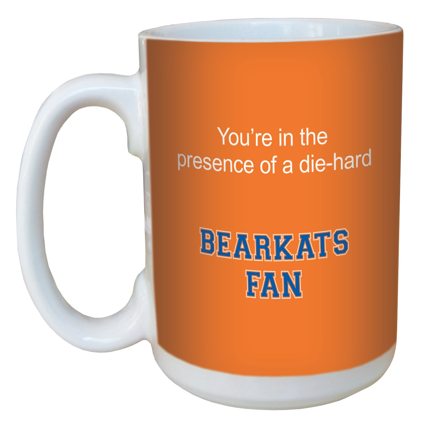 Tree-Free Greetings lm44546 Bearkats College Football Fan Ceramic Mug with Full-Sized Handle, 15-Ounce Tree Free