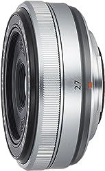 Fujifilm XF 27 - OObjetivo para Fujifilm (distancia focal fija 41 mm, apertura f/2.8-16.0), color plateado