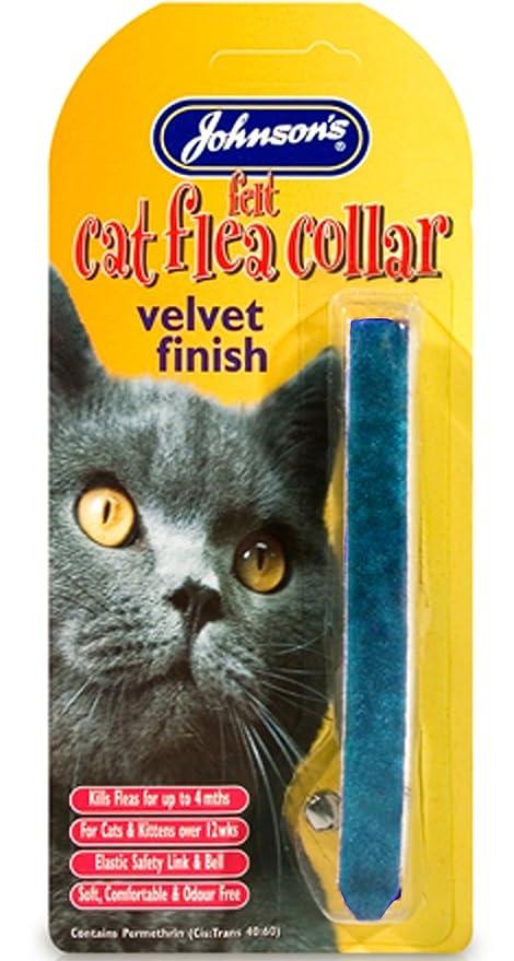 Jvp - Collar de fieltro para gato
