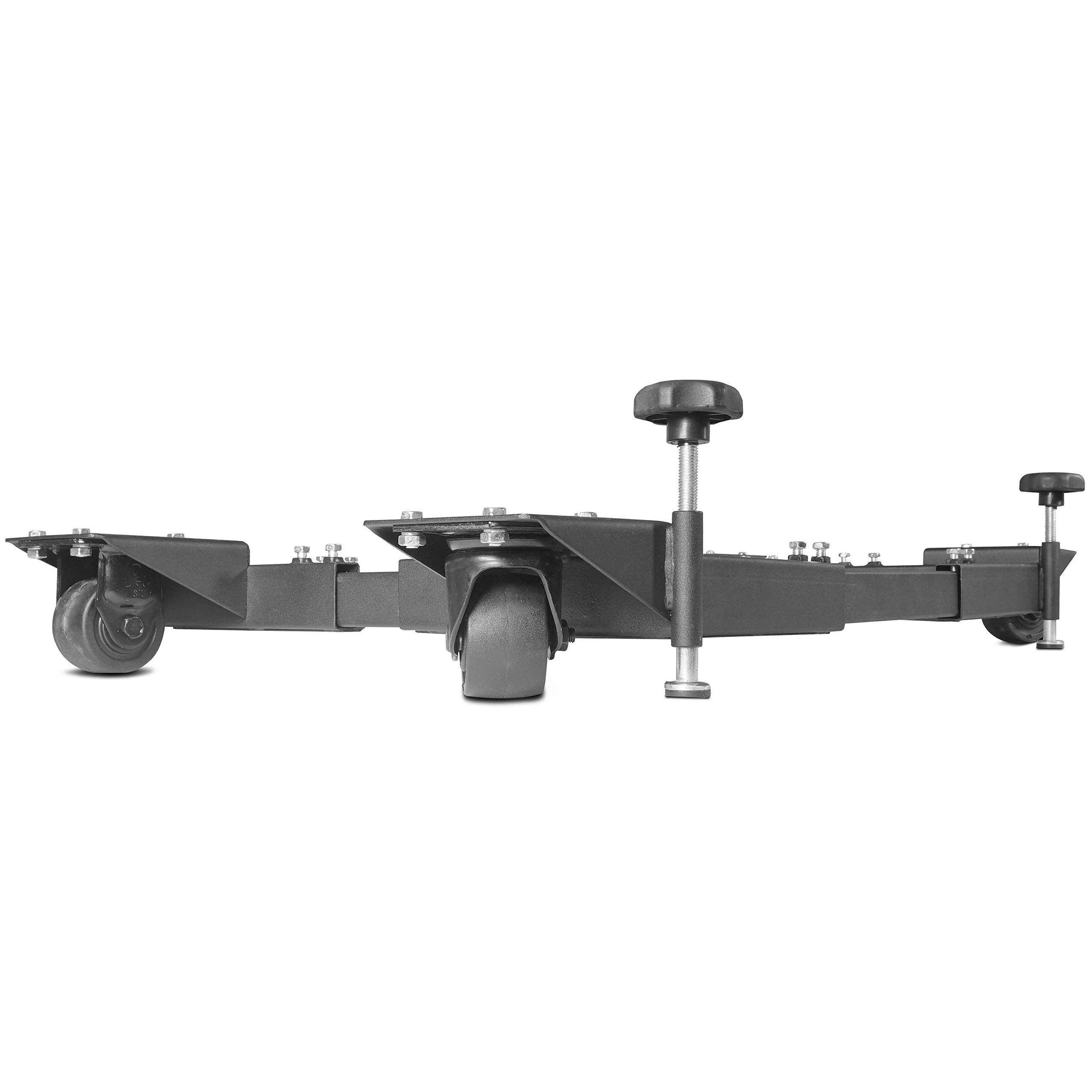 Titan Adjustable Mobile Base Dolly 1200 lb Capacity HD Universal Power Tools - Make Your Workshop Portable & Easy To Use by Titan Attachments (Image #5)