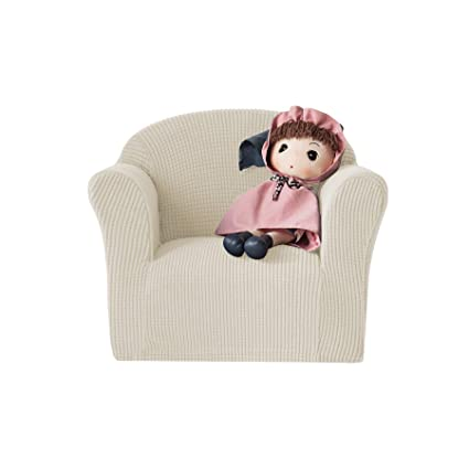 Admirable Chun Yi Jacquard High Stretch Kids Sofa Cover Childs Chair Cover Mini Size Sofa Slipcovers 1 Seat Soft Armchair Couch Cover Settee Coat For Creativecarmelina Interior Chair Design Creativecarmelinacom