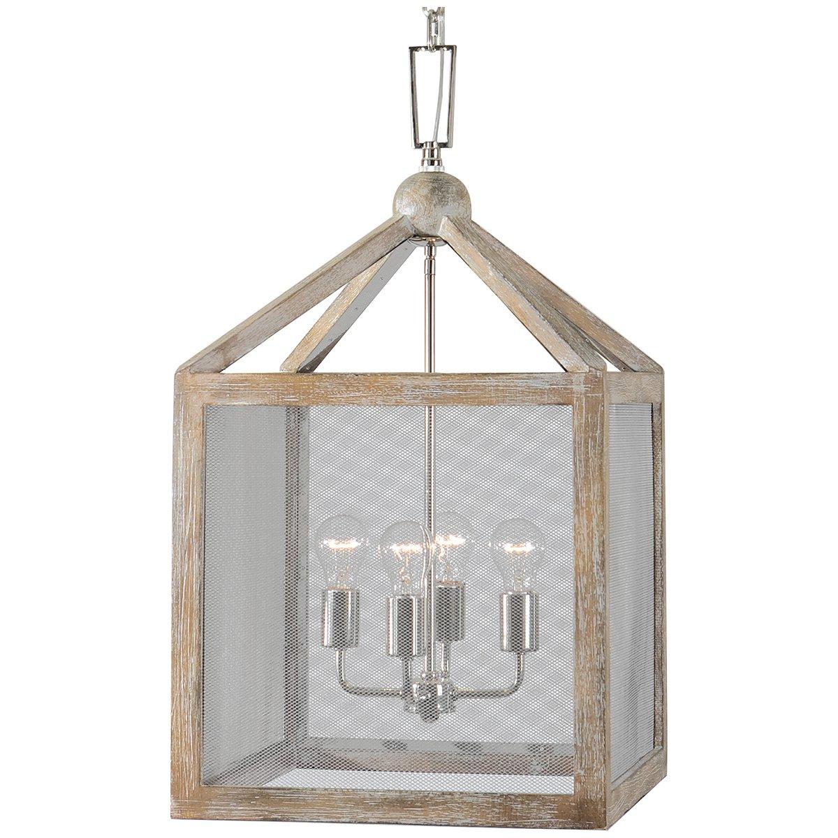 Amazon uttermost 22050 nashua 4 light wooden lantern pendant amazon uttermost 22050 nashua 4 light wooden lantern pendant home kitchen arubaitofo Image collections