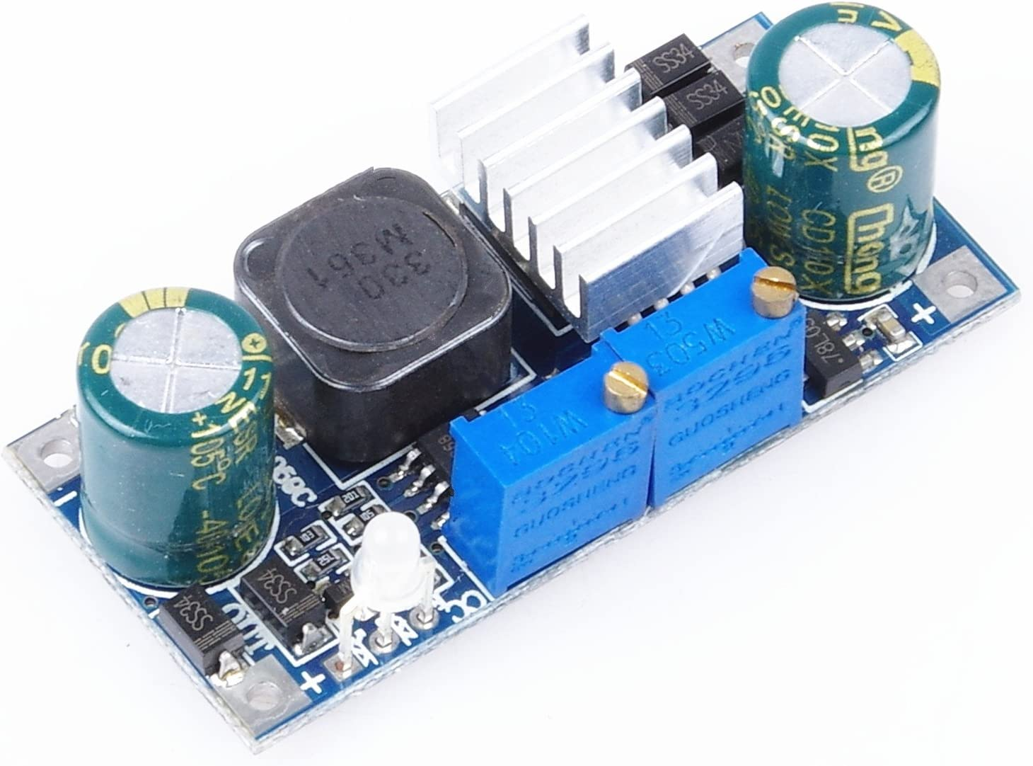 DC-DC 5A 5-32V TO 1.2-31V Buck Constant Current Module Battery Lithium Battery Excavation Charging Led Drive Solar Regulator Module
