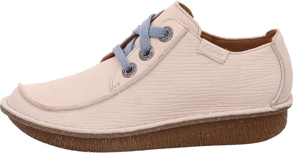 White Nubuck (Cream) Womens Shoes 9 UK