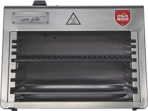 The Otto Lite is The Portable Steak Grill,1500 F Steak Grill, 100 Stainless Steel