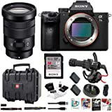 Sony a7 III Full Frame Mirrorless Interchangeable Lens Camera w/ 18-105mm f/4 G OSS Lens Bundle