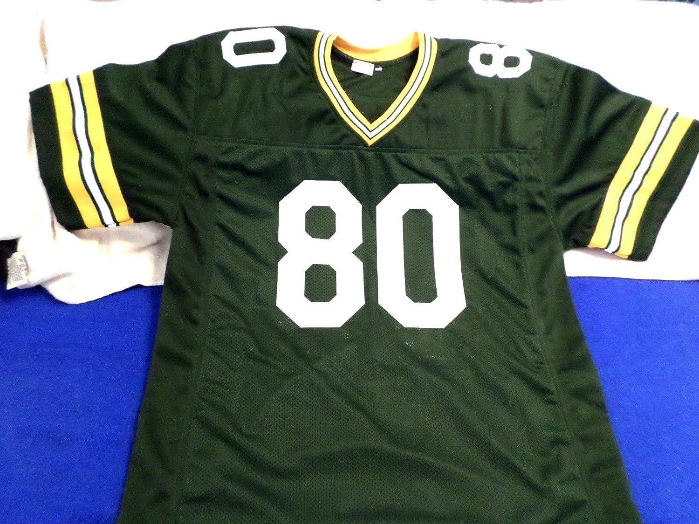 detailed look c1625 cc3c1 HOF James Lofton Autographed Signed Custom Green Bay Packers ...
