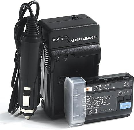 Mains /& Car Charger for Nikon EN-EL15 D600 D610 D7100 D7000 D800 D810 Battery
