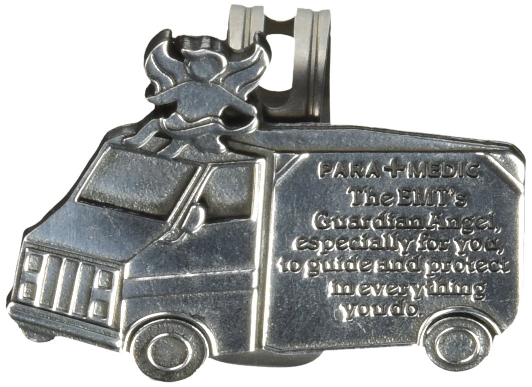 EMT 2-1//4-Inch Cathedral Art KVC619 Angels at Work and Play Visor Clip